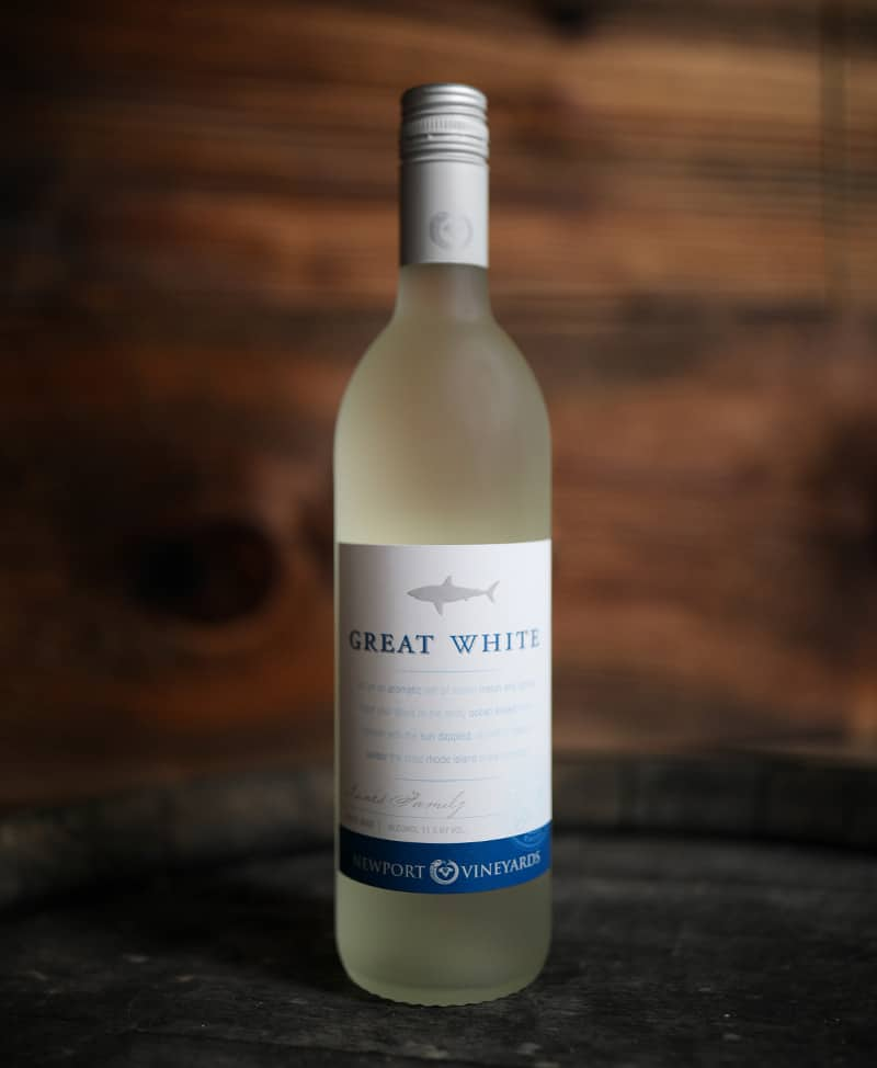 Newport Vineyards Great White Wine