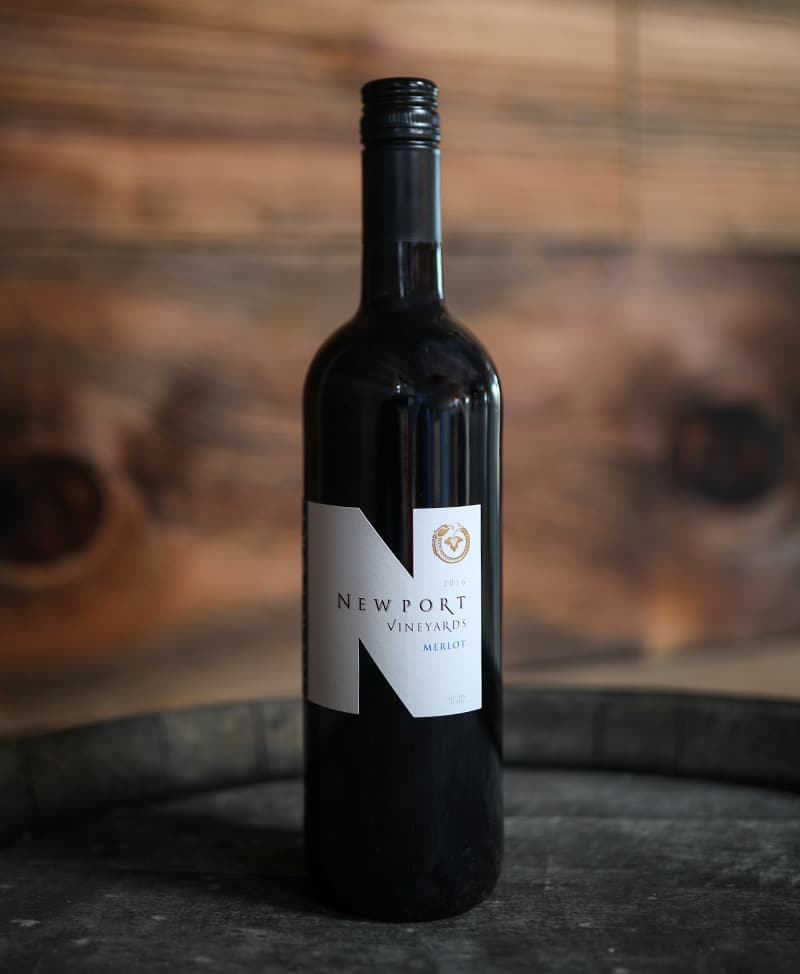 Newport Vineyards Merlot Red Wine