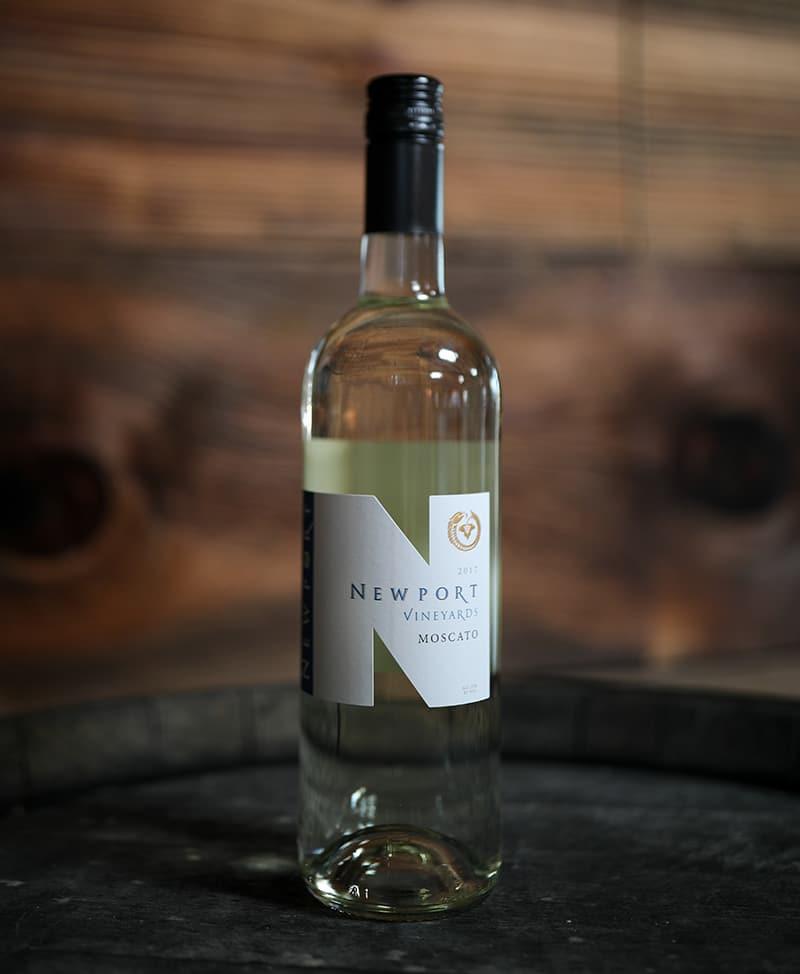 Newport Vineyards Moscato White Wine