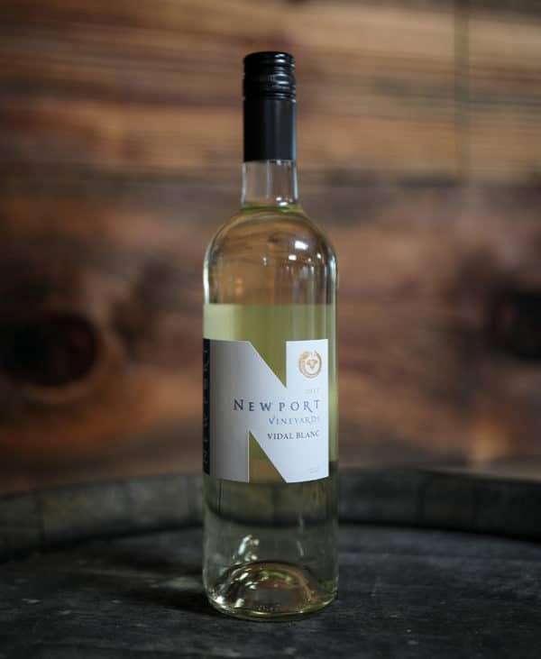 Newport Vineyards Vidal Blanc White Wine