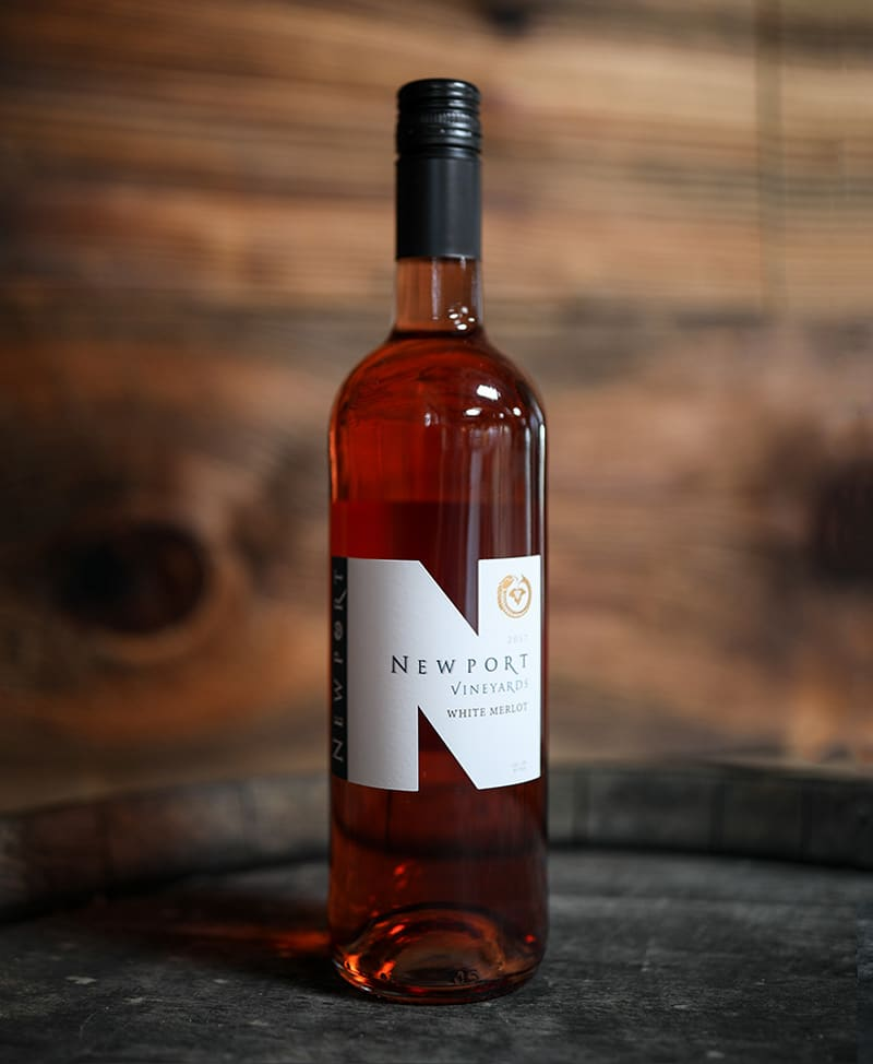 Newport Vineyards White Merlot Blush Wine